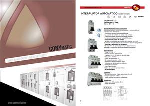 Catálogo CONYMATIC 2013