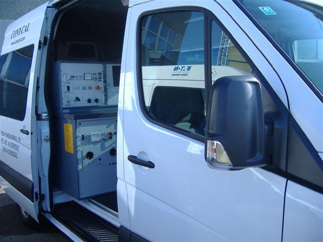 CONYCAL pone a su disposición, el más moderno equipamiento de medida y testeo.